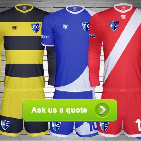 custom football kits