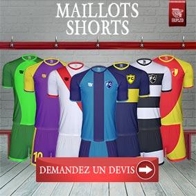 Maillots football personnalisés