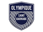 LOGO CLUB OLYMPIQUE SAINT BARNABE