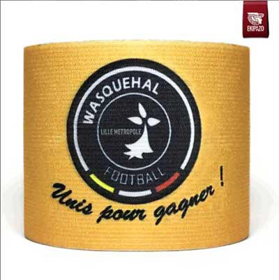 Gold custom captain armband
