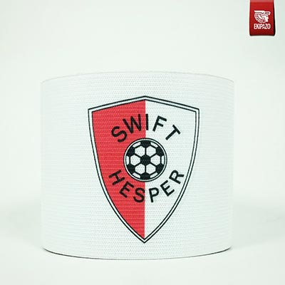 White custom captain armband