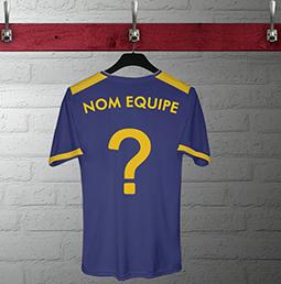 Nom club équipe football