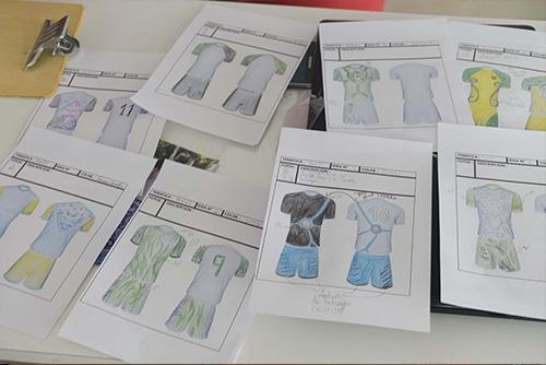 dessins maillots tahiti