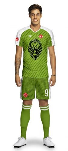 Maillot Foot Lion Taranga