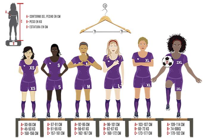 Tallas Mujer Ekipazo